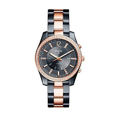 Fossil Hybrid Smartwatch Q Scarlette Two Tone Stainless Steel FTW5017