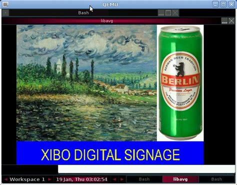 tutorial xibo client xibo digital signage in raspberry pi emulator step 1
