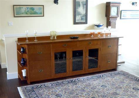 mission style liquor cabinet voorhees craftsman mission oak furniture custom 9 foot