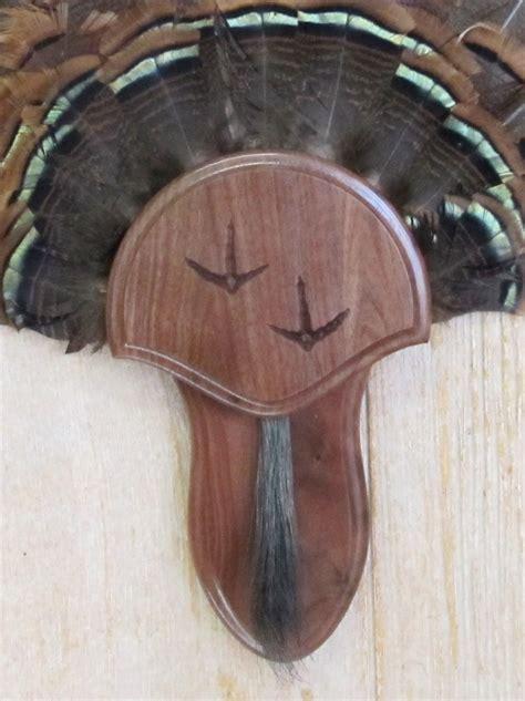 turkey fan and beard mounting kit black walnut turkey fan beard mounting kit with carved