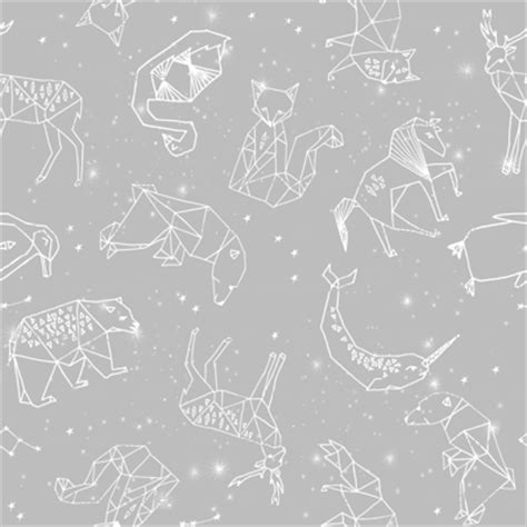 Gamis Butterfly Grey Recommended constellations grey animals geometric origami