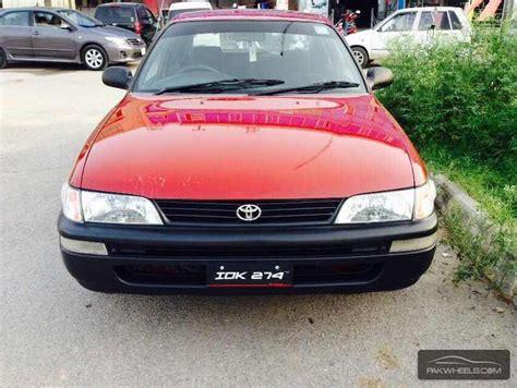 For Toyota Corolla Toyota Corolla Xe 2000 For Sale In Islamabad Pakwheels