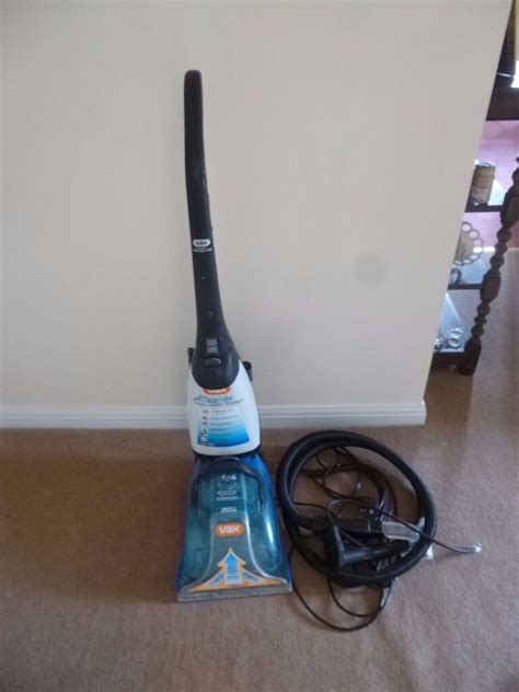 Vax V 026rd Rapide Deluxe Upright Carpet And Upholstery Washer by Vax Rapide Deluxe Carpet Cleaner V 026 In Norwich