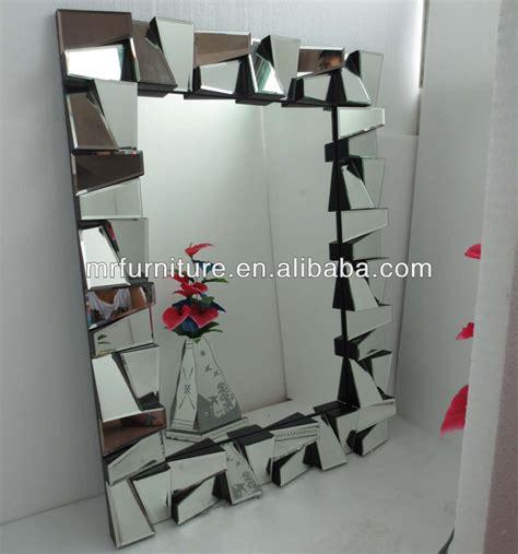 aura home design gallery mirror mr 2d0105 aura multi faceted art deco mirror framed rectangle wall mirror view art deco