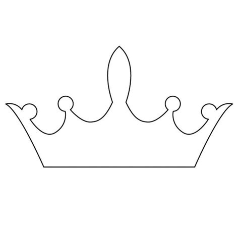 Crown Templates 25 best ideas about crown template on crown pattern crown and simple shapes