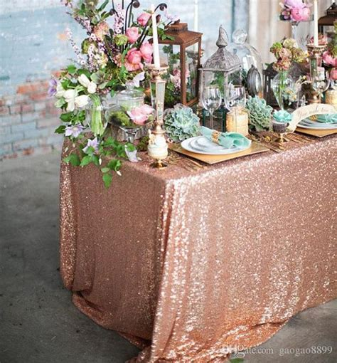 blush navy blue and rose gold wedding decor   Sub the mint