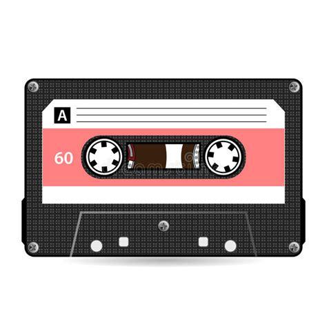 cassetta audio retro vettore dell audio cassetta audio nastro a cassetta