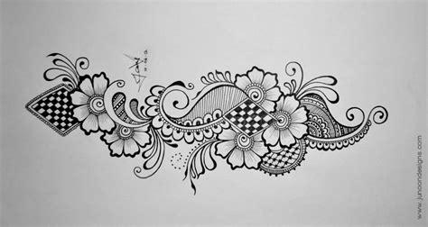 design drawing junoon designs 187 henna tutorial ii