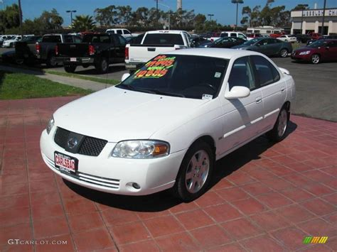 white nissan sentra 2006 2006 cloud white nissan sentra 1 8 s special edition