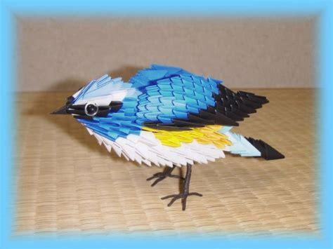 Origami 3d Bird - manualidades de tiempo libre 05 11 11