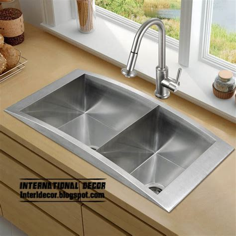 kitchen sink types how to choose kitchen sink designs and types