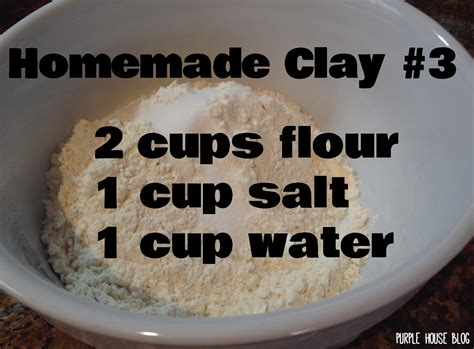 how to make clay at home clay lab with clay purple house