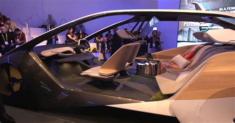 futuristic cars interior bmw s futuristic concept car interior uses holograms