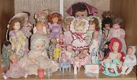 two little dolls in a little doll house storybook dress me dolls on vintage dolls