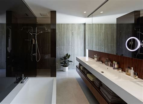 Modern Spa Bathroom by Californian Coastal Style And Iconic D 233 Cor Define Austrian
