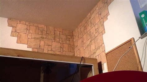 stein tapete deko tipps fototapete an der wand anbringen anleitung tapezieren