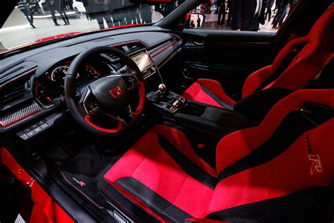 honda civic 2017 type r interior 2017 honda civic type r production car debuts at geneva