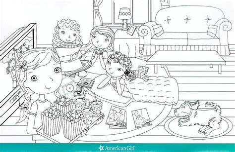 coloring pages of american girl doll saige girl with doll coloring page az coloring pages