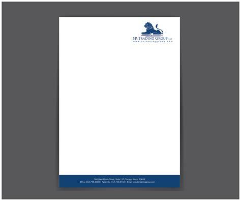 automotive business letterhead template serious business letterhead design for seriously