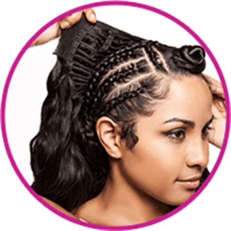 how much hair is left out in a versatile sew in mongolian hair supreme and luxury hair 10 minute sew