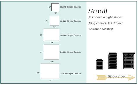 Amborela canvas size chart amborela