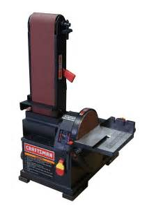Craftsman Bench Grinder 6 X 9 Disc Sander Shape And Finish With Solid Tools