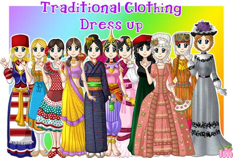 Iattire Dress Up Your Ipod by Traditional Clothing Dress Up By Annortha On Deviantart