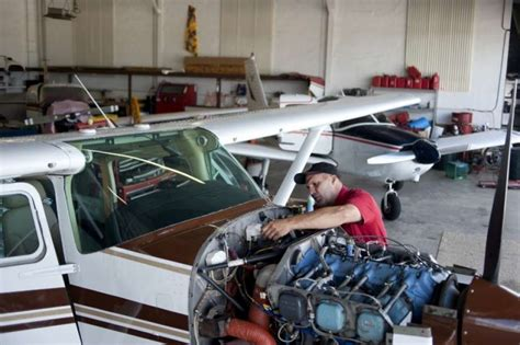 Jet Engine Mechanic by Aircraft Mechanic To Fill Void At Barstow Municipal Airport Midland Daily News