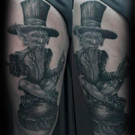leprechaun tattoos for men 50 leprechaun designs for folklore ink