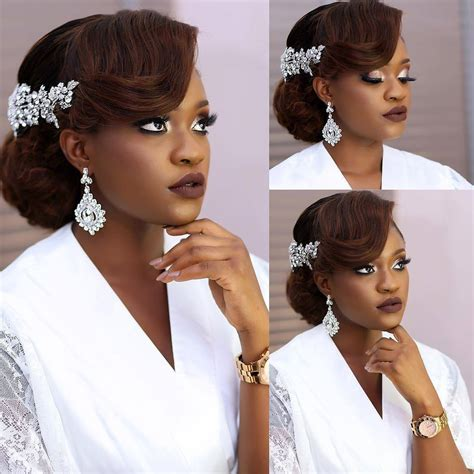 nigerian bridal hair videos elegant hairstyles for nigerian brides a million styles