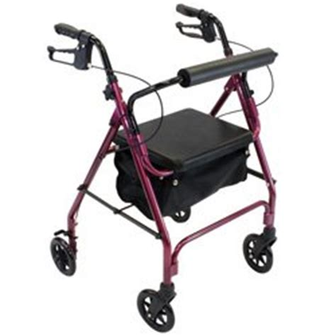 walkers with a seat 4 wheel rolling walker with shopping basket