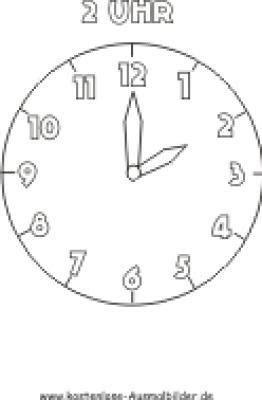 Bilder Für Die Wand Zum Selber Malen 2069 by Uhr Malvorlage Drucken 237 Malvorlage Uhr Ausmalbilder