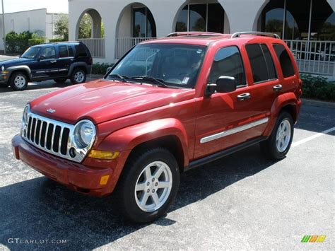 jeep liberty 2007 2007 inferno pearl jeep liberty limited