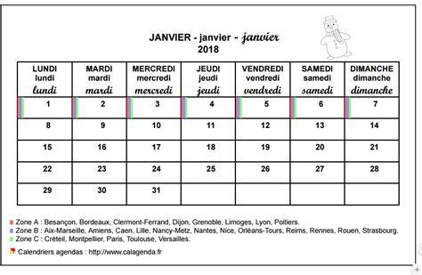 Calendrier Ecole Calendrier Mensuel 2018 233 Cole Primaire Et Maternelle