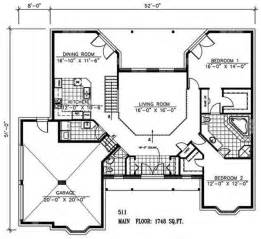 2 Bedroom Open Floor Plans Two Bedroom Open Floor House Plans Bedroom Home Plans