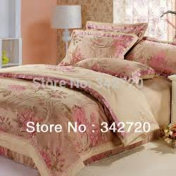 promotions jacquard wedding bedding set queen king size