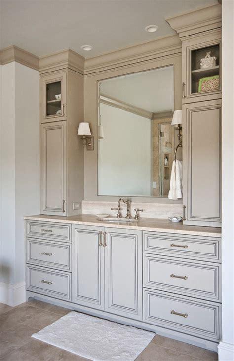 Bathroom Vanities With Makeup Area » Home Design 2017
