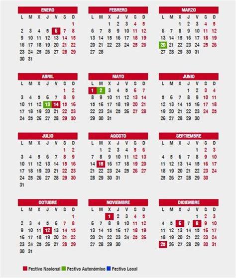 Calendario Laboral Barcelona 2018 191 En Qu 233 Lugares Es Festivo El 1 Y 2 De Mayo Puente Y