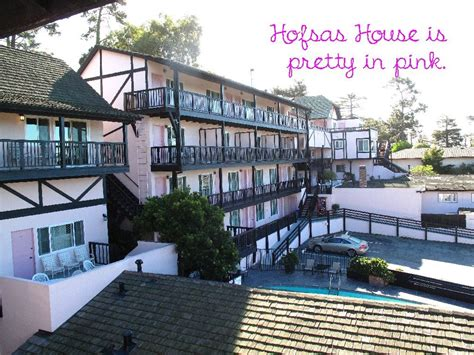 hofsas house think pink where to stay in carmel by the sea worth the whisk
