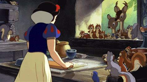 baking gif favorite snow white moments likes animated gif 791609