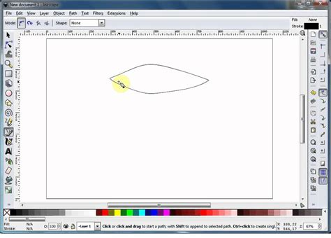 Inkscape Tutorial Bezier Curves | inkscape tutorial using bezier curves the basics youtube