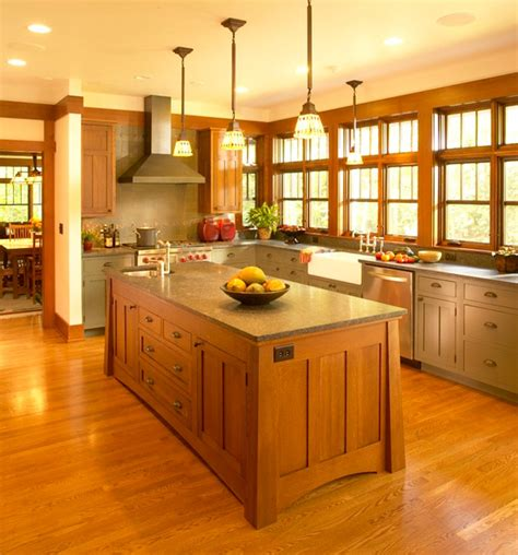 Wood Harbor Cabinets by Wright In The Woods Craftsman Kitchen Other By