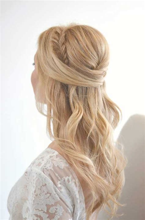 Wedding Hairstyles Half Updos by 25 Half Updo Wedding Hairstyles Crazyforus
