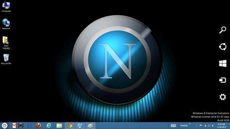 gratis tema windows  napoli fc  theme  windows