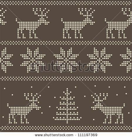 jumper pattern vector stock vector seamless nordic scandinavian jumper knit