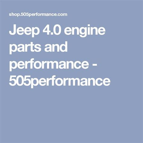 Jeep 4 0 Performance Mods 195 Best Images About Jeep Xj On Jeep