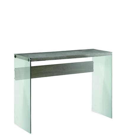 home depot console monarch specialties console table dark taupe with