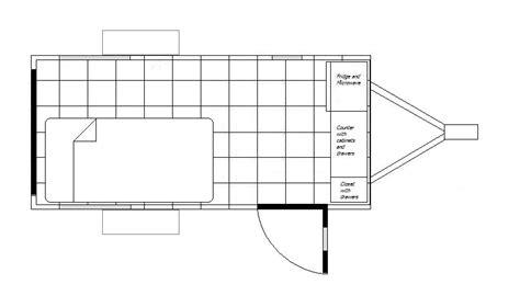 cargo trailer conversion floor plans my cargo cer conversion february 2011