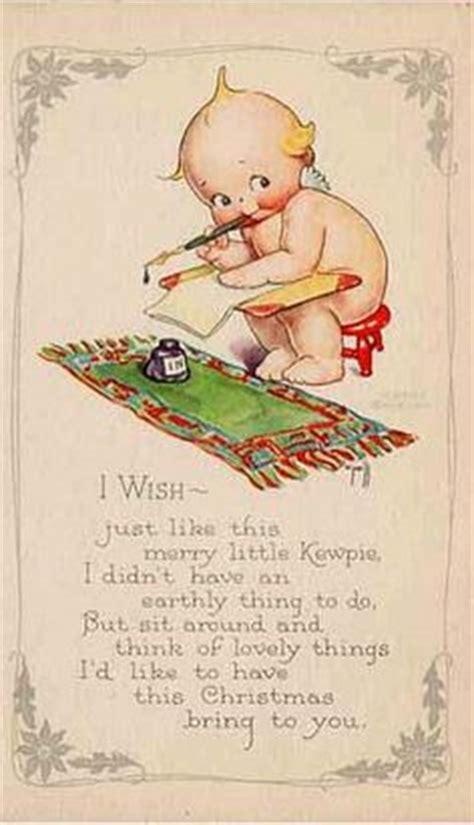kewpie kards advertisement for o neill designed kewpie embroidery