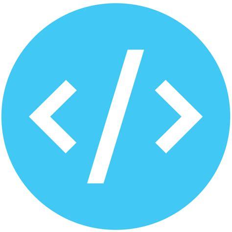 web development icon logo cherry infotech software development company